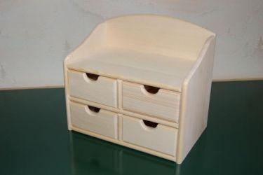Petit meuble de rangement en bois en bois boissellerie for Petit meuble tiroir rangement